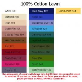100% Cotton Lawn