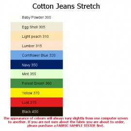 Cotton Jeans Stretch