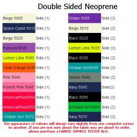 Double Sided Neoprene