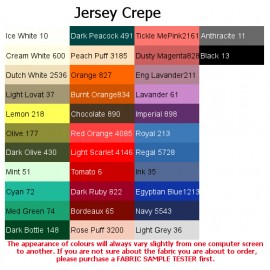 Jersey Crepe Fabric