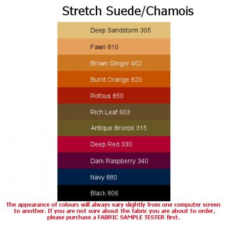 Stretchy Suede/Chamois