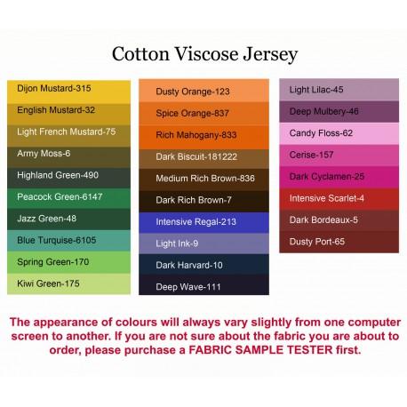 Cotton Viscose Jersey